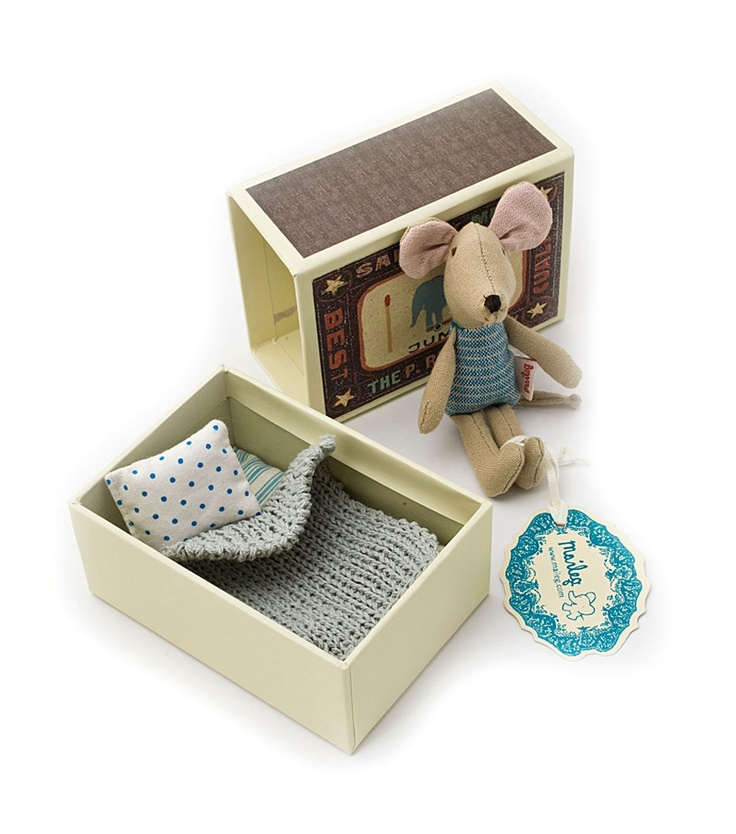 Catbird :: shop by category :: BABY & KID :: Mouse in Matchbox - Boy