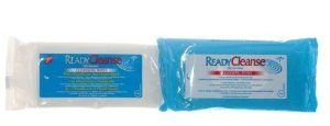 (CS) ReadyCleanse Dimethicone Wet Wipes by Medline. $59.98. ReadyCleanse Wipes are large, durable wet wipes are perfect for everyday clean-ups and incontinence care.  Medline's wet wipes are cost effective by eliminating the need for soaps, wash basins, washcloths and lotions.  The pH-balanced, hypoallergenic and alcohol-free wipes provideexceptional skin care.  Single patient use reduces the risk of cross contamination.  Available with or without dimethicone, in scented...