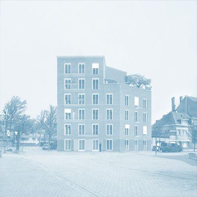 Sociale huisvesting 'De Bloemenwinkel'/ Haerynck Vanmeirhaeghe architecten