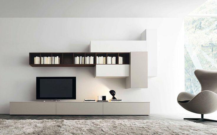 Attraktiv Wohnzimmer Tv Wand