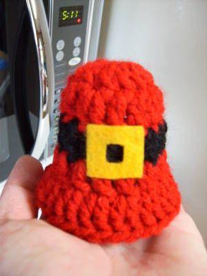 93 Best Crochet Bells Images On Pinterest Christmas Bells Crochet