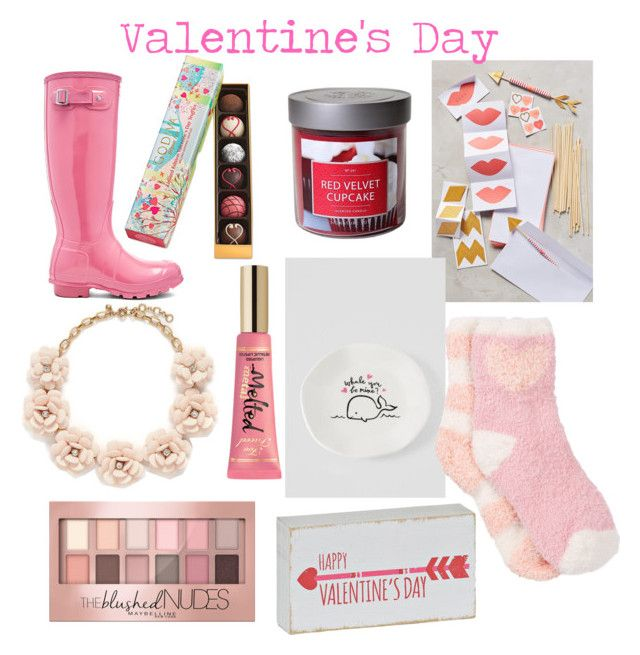 Valentine's  Day pt.2 by nrousch on Polyvore featuring polyvore fashion style Free Press Hunter J.Crew Maybelline Too Faced Cosmetics Target Godiva women's clothing women's fashion women female woman misses juniors: