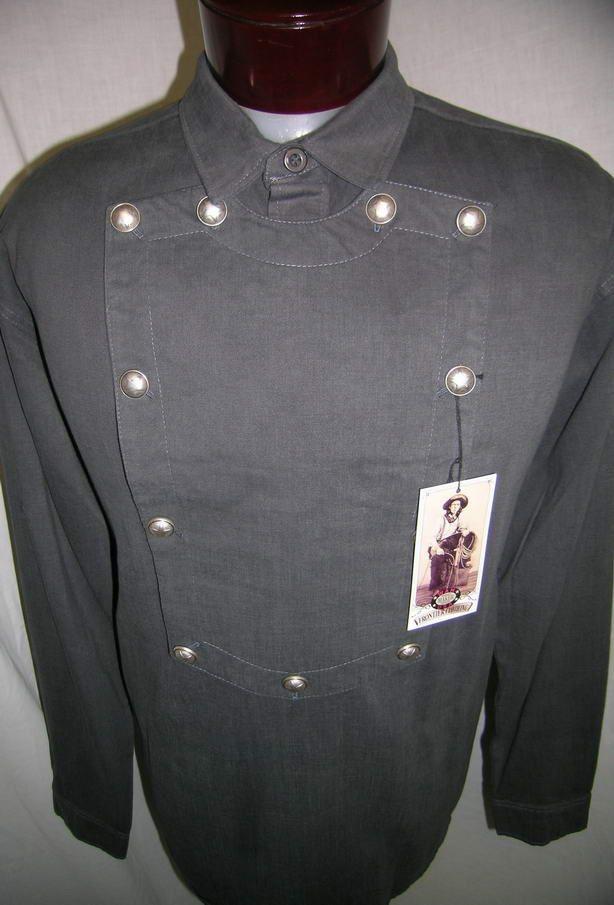 538720 Wahmaker Bib Old Western Cowboy Shirt XL Sass ...