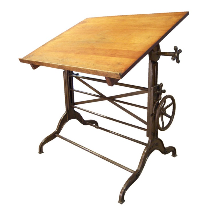 Drafting Tables On Pinterest Antique Table Modern Desk And