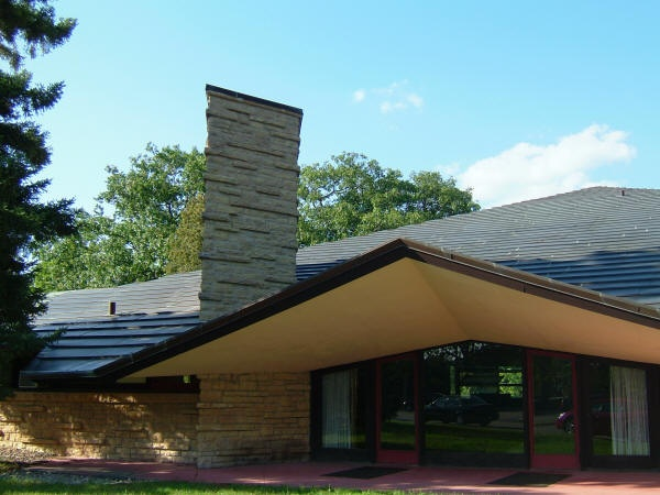 Superior Unitarian Meeting House. Madison Wisconsin. Frank Lloyd Wright. 1951 Pictures Gallery