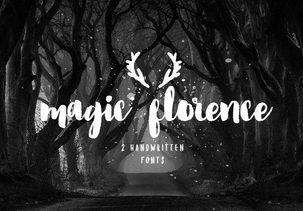 Florence Font #inspirational #winter #magic