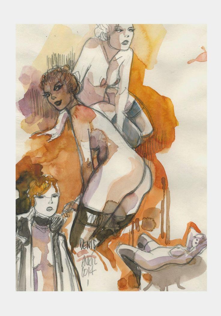 les dessins de Denis Verlaine: Galerie .
