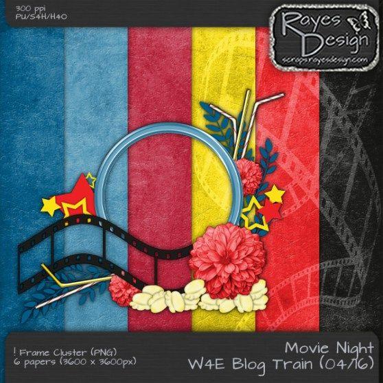 RayesDes_Wilma4EverBlogTrain - Movie Night