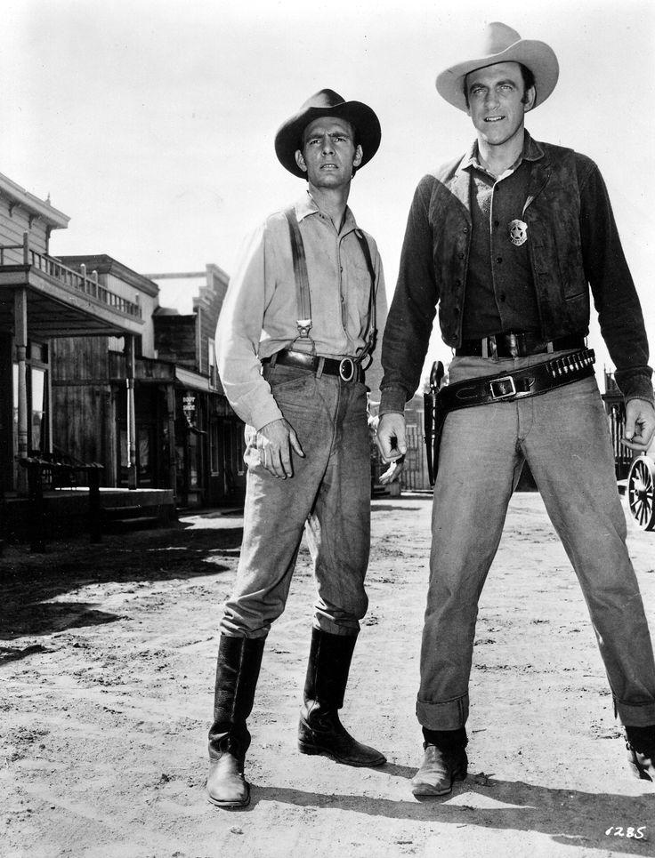Dennis Dillon Dodge >> Dennis Weaver as Chester Goode with Jim Arness as Marshall Dillion on Gunsmoke -- Old Chester ...