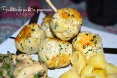Boulettes de poulet au parmesan - 5 pp pour 6 boulettes