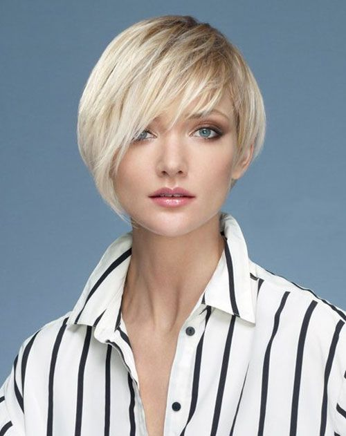 Asymmetrical long hair cut | 20 Haircut for Short Straight Hair | 2013 Short Haircut for Women