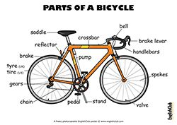 Parts of a Bicycle