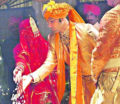 Yuvraj Shivraj Singh of Jodhpur on his wedding day