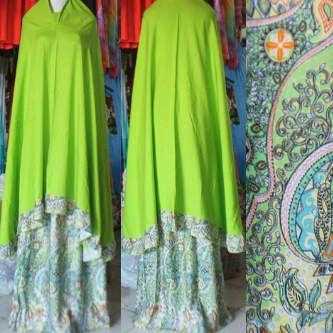 Mukena Bali Rempel Kombinasi
