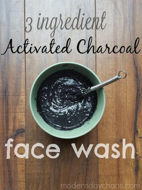Modern Day Chaos: What We Made: Activated Charcoal Face Wash     #moderndaychaos…