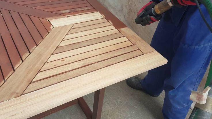 MEBLE OGRODOWE... i ich drugie życie ;)  Sodowanie jest najnowocześniejszą z metod oczyszczania powłok. Drewno odzyskuje jasny, brązowy kolor. Warstwy farb oraz impregnatów pozostają usunięte, a soda dodatkowo odtłuszcza i zabezpiecza drewno, skutecznie przygotowując pod impregnowanie czy malowanie. :) www.sodowanie.szczecin.pl