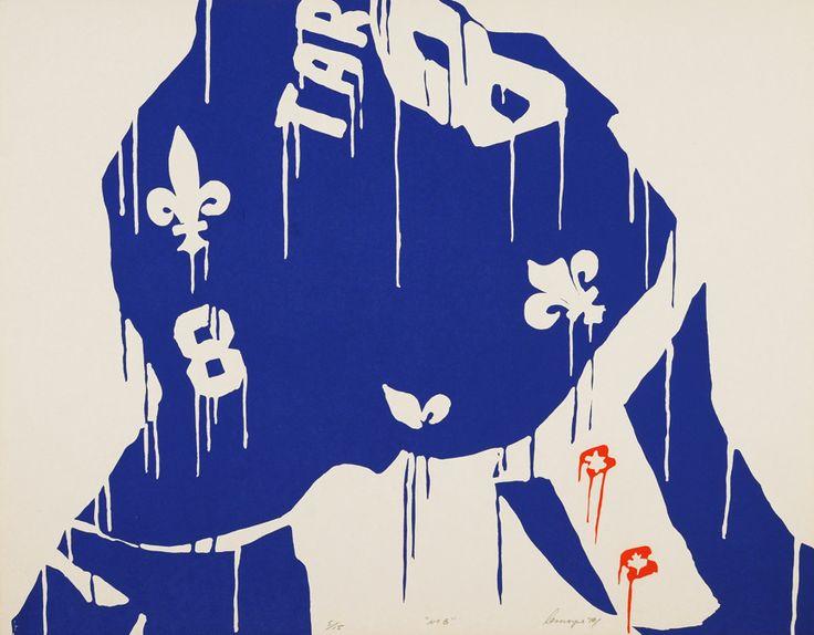 Le no. 8 - Serge Lemoyne - Galerie Simon Blais - 5420, boul. St-Laurent, Montréal