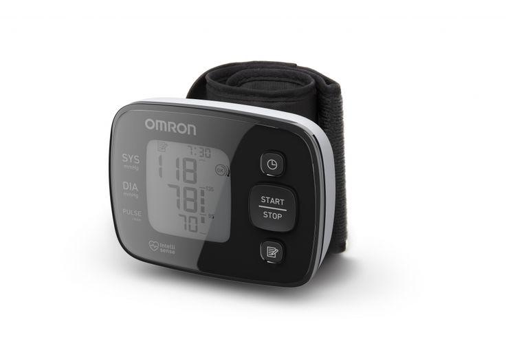 "OMRON MIT Quick Check 3 Új vonalú ""Black Line"" csuklós vérnyomásmérő"