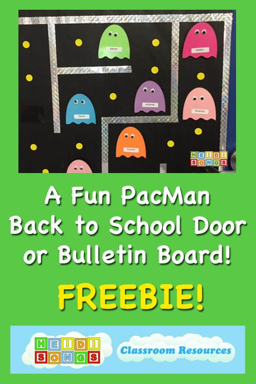 17 best ideas about school doors on pinterest classroom for Back to school board decoration