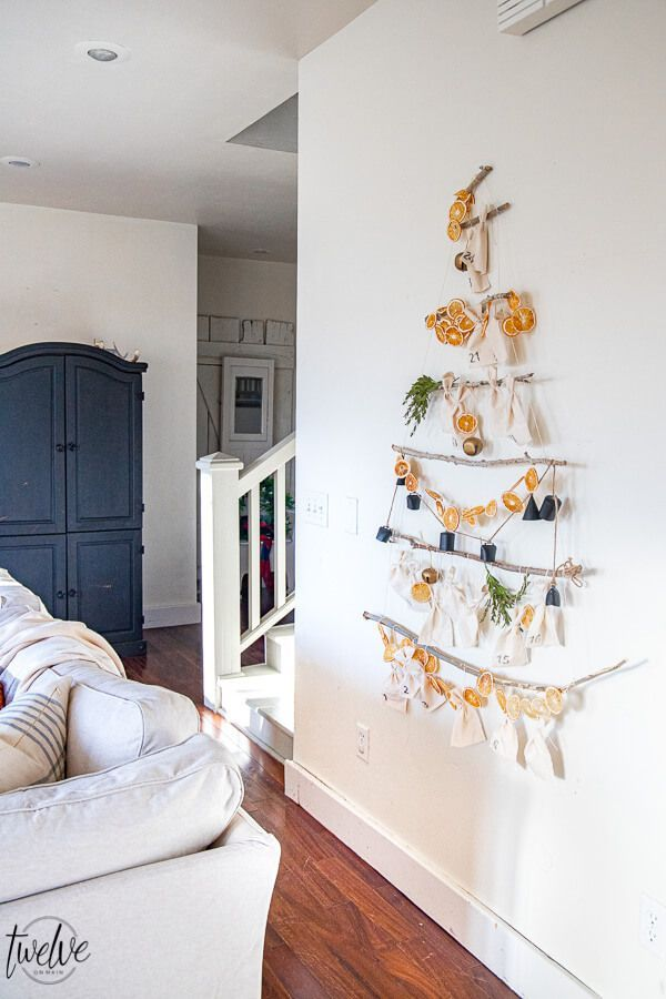 Simple Scandinavian Inspired Advent Calendar Diy In 2020 Simple Christmas Decor Christmas Decorations Bedroom Diy Calendar