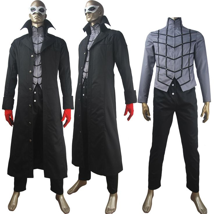 Persona 5 Leading Character Hero costume full set halloween make-up carnival anime costume