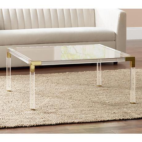25+ best acrylic coffee tables ideas on pinterest | acrylic