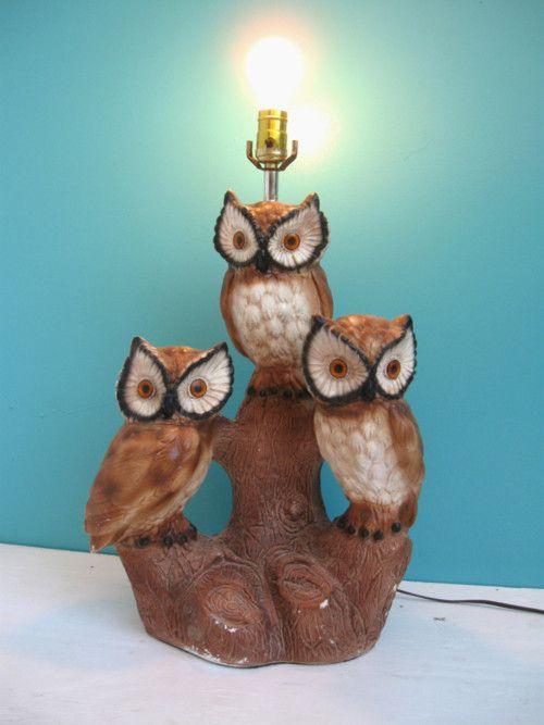 Great Owl Lamp