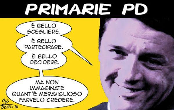 #IoSeguoItalianComics #Satira #Politica #Primarie #PD #Renzi