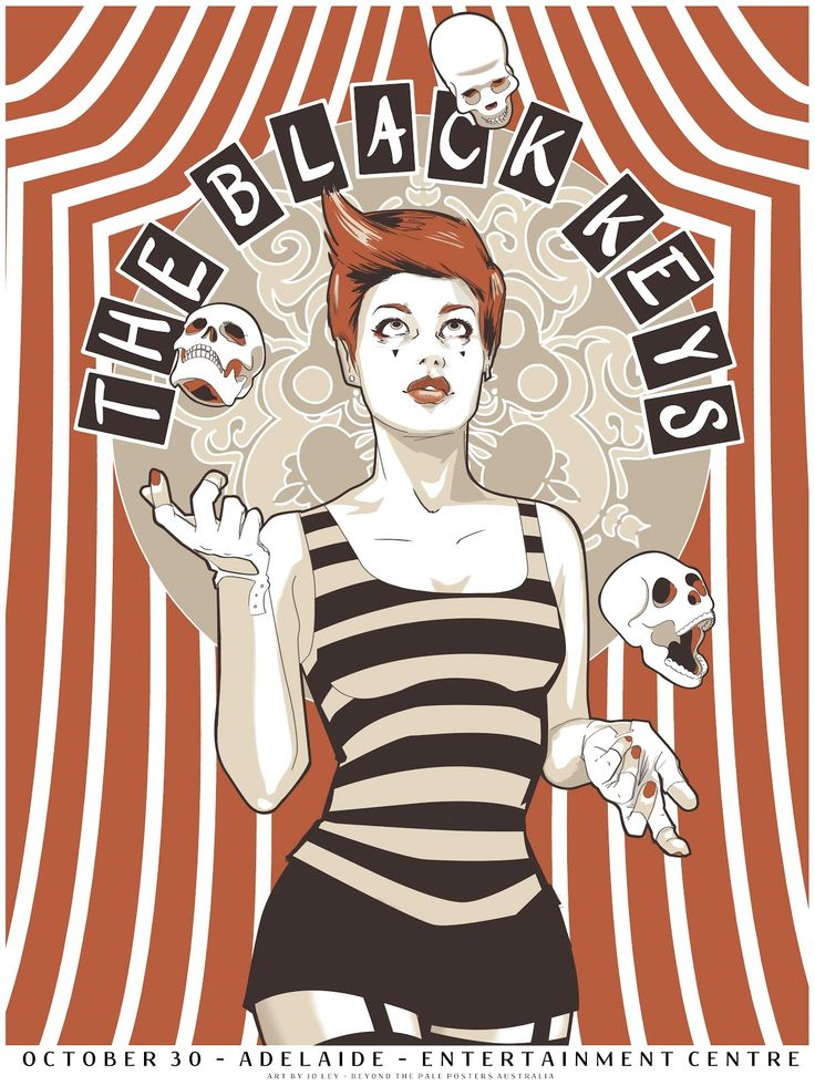 The black keys posters adelaide entertainment centre
