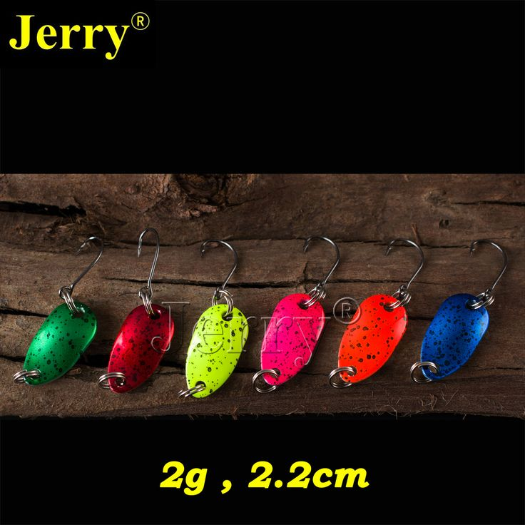 Jerry 6pcs 2g pesca micro mini trout spoon ultralight river fishing spoons spinner perch pike salmon #jewelry, #women, #men, #hats, #watches, #belts