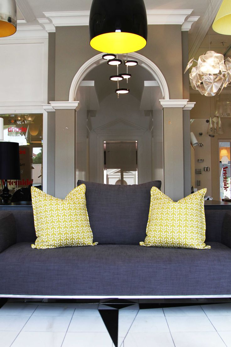 SQ Life style shot a touch of yellow to energize your space.  www.suziequ.co.uk