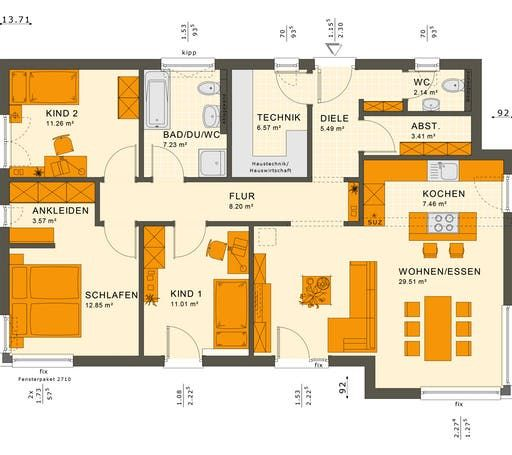 Solution 100 V6-V7 Floorplan 1