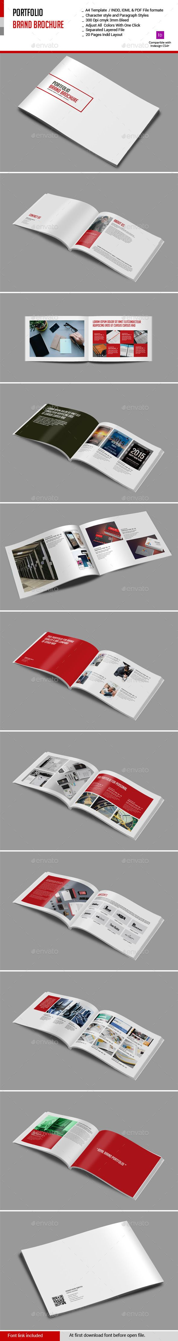 Portfolio Brand Brochure Template. Download: http://graphicriver.net/item/portfolio-brand-brochure/10974788?ref=ksioks
