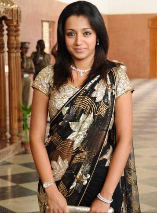 Sorry, that Trisha krishnan saree speaking, opinion