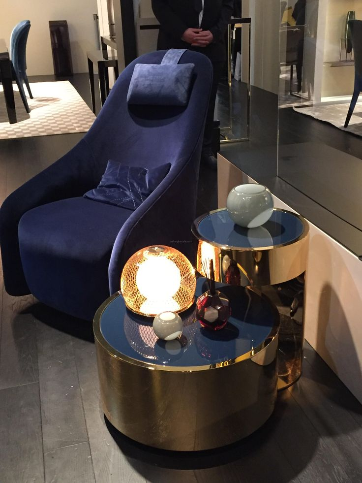 Fendi Casa 2016 Collection Is All About Blue Velvet And