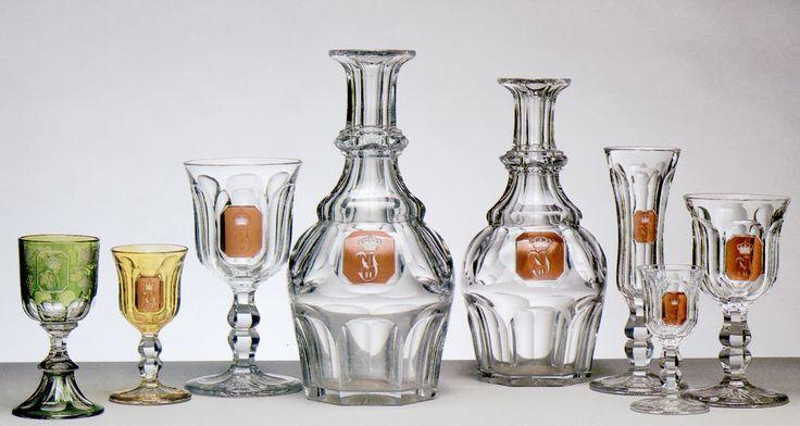 Cristalería de gala de Isabel II