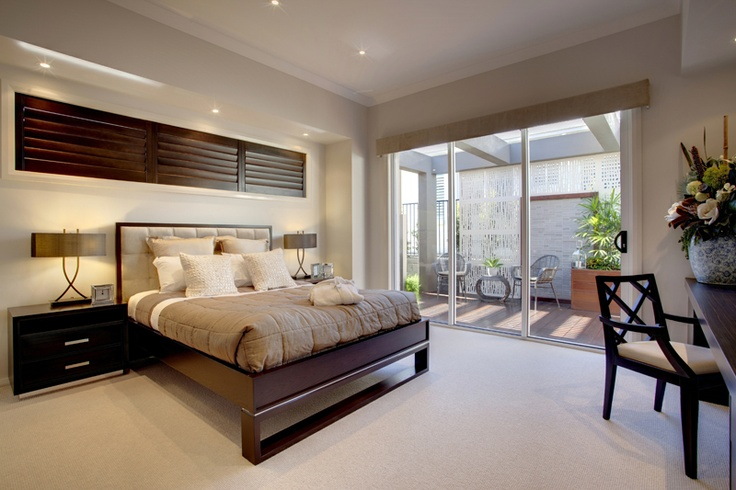 Monaco master suite by McDonald Jones Homes. #bedroom #design #luxuryhome #mcdonaldjones
