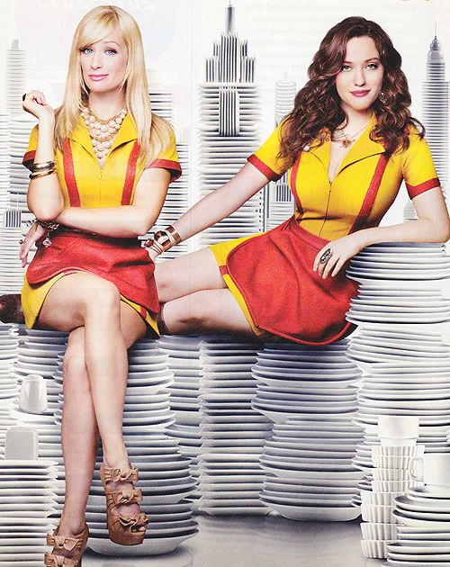 2 Broke Girls - this show is funniest show ever! They have great dark humour and the cast works so well together!!
