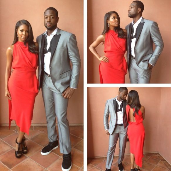 Gabrielle Union and Dwayne Wade YBF.comi So classy and gorgeous!!!!!