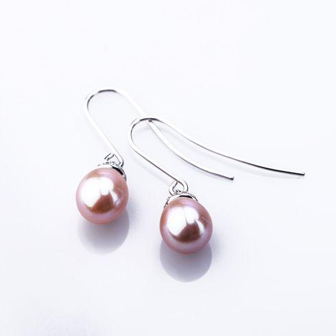 Cercei din argint cu perle C174