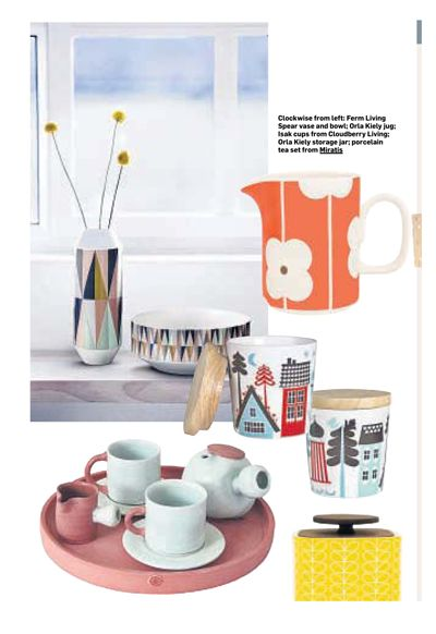 Adam Frew's Tea Set was featured in the Irish Sunday Times in November. Find this product here: http://www.miratis.com/ceramics/tea-set.html