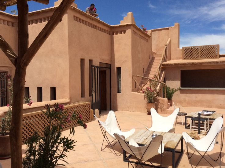 Riad Caravane, Morocco, Terrace