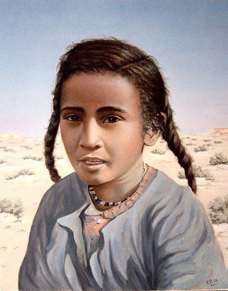 96e180c32a8 Touareg girl Habiba
