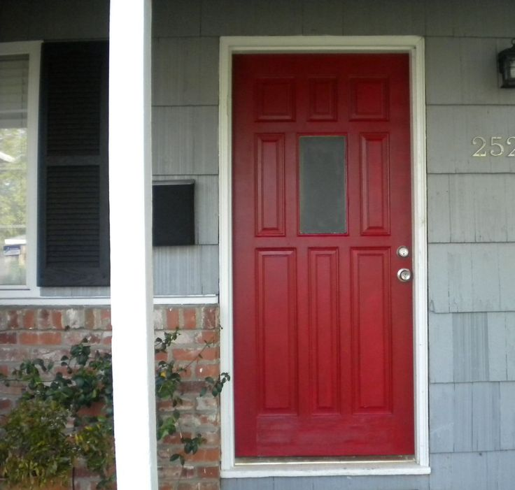 awesome best benjamin moore red paint for front door gallery