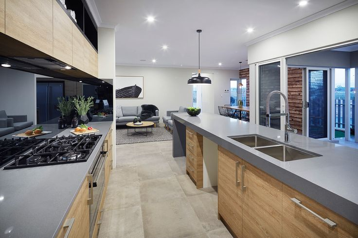 Contemporary Kitchen, Home Builders Perth.