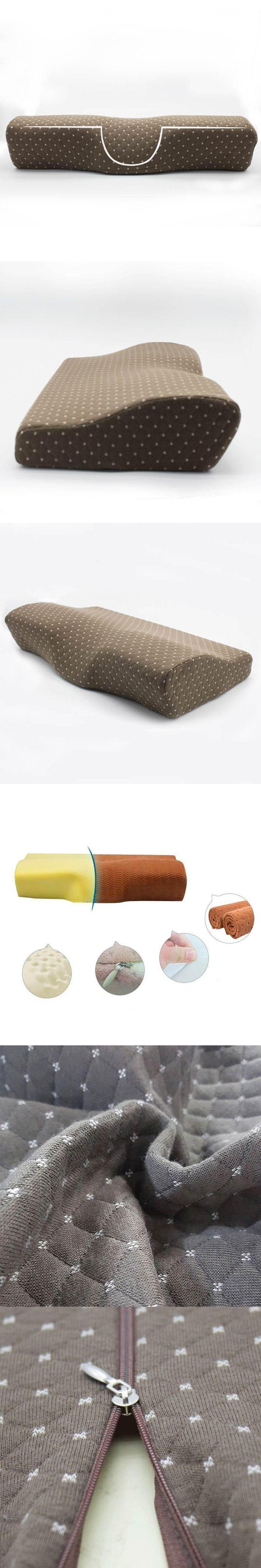 Care Orthopedic Pillow Latex Neck Massager Pillow Slow Rebound Memory Foam Head Cervical Health Sleeping Pillow travesseiro