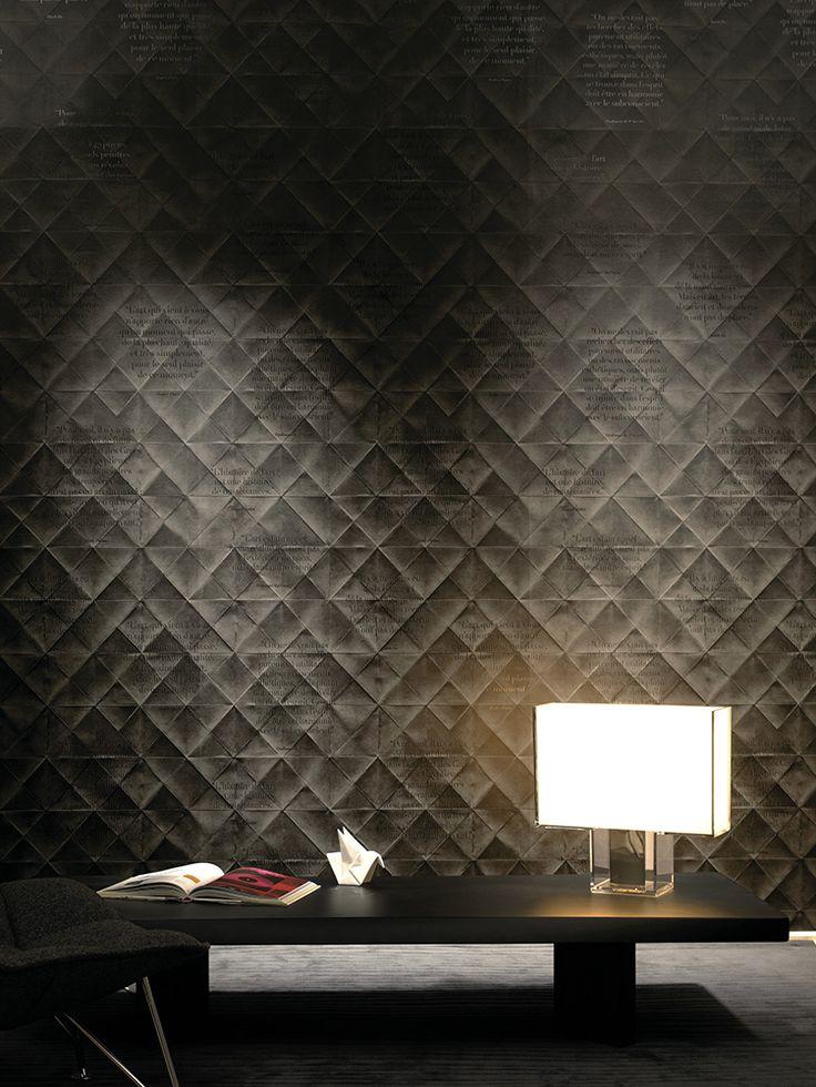 Tendance Effet Relief. Le relief au service de la déco ! Que ce soit en trompe l'œil ou en 3D les murs s'affolent pour prendre place.