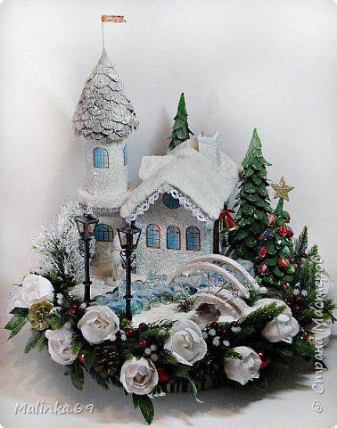 Свит-дизайн Новый год Моделирование конструирование Снежное царство ангелов и Глоток морозного утра Продукты пищевые фото 1