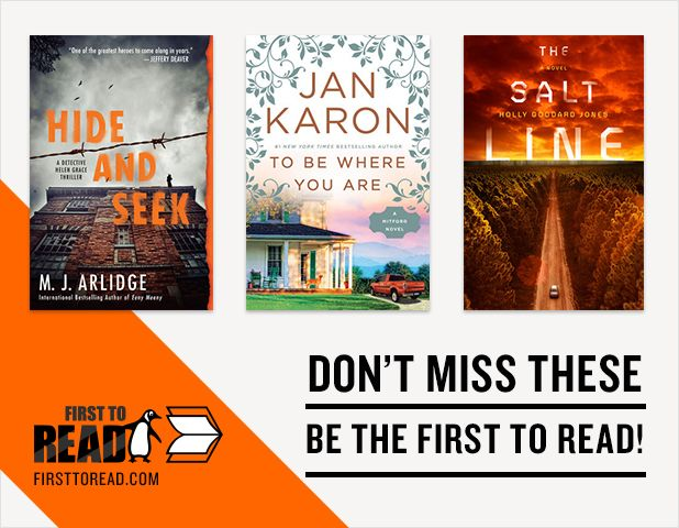 Read these great new books on First to Read!