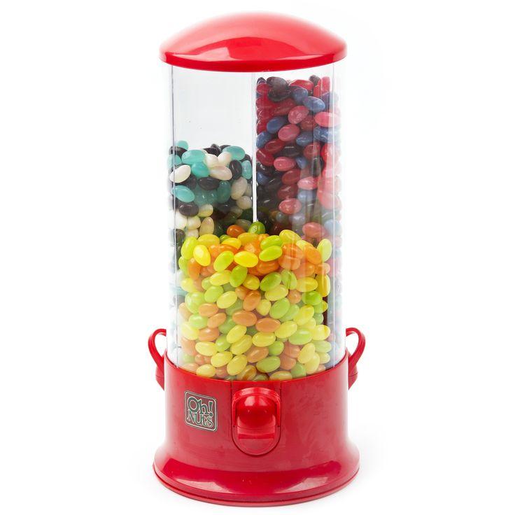 Blast of Fun Jelly Bean Dispenser Candy Machine Gift -
